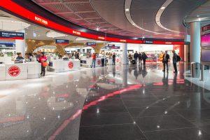 DUTY FREE, Gebr. Heinemann Terminal 1A-Plus, Eb. 3, NonSchengen, Flughafen Frankfurt