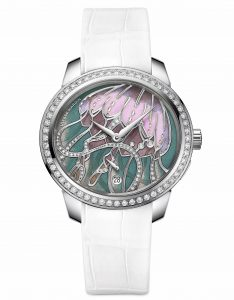 Jade Cloisonné Jellyfish