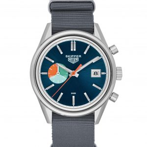 TAG Heuer_Skipper_Grey Strap (2)
