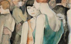 Museum-Berlin_Jeanne-Mammen_Retrospektive_Zwei_Frauen_tanzend_um_1928