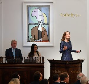 <> at Sotheby's on June 19, 2018 in London, England.
