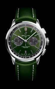 BREITLING 07_Premier_B01_Chronograph_42_Bentley_British_Racing_Green_with_a_British_racing_green_leather_strap