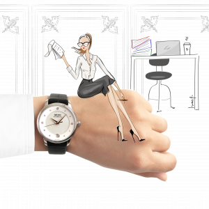 Mido_Swiss_automatic_watches_Baroncelli_LadyDayNight_M039_207_16_106_00_black_strap_work_illustration