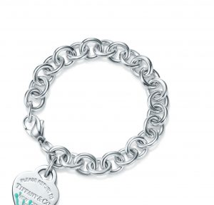 TIFFANY_Color Splash Heart Tag Bracelet