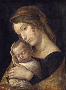 17_Mantegna_Maria_mit_schlafenden_Kind