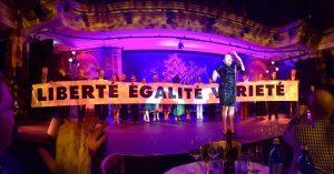 30 Jahre Tigerpalast Gala im Gesellschaftshaus Palmengarten - Maria Happel vom Burgtheater in Wien singt Edith Piaf Je ne regretterien