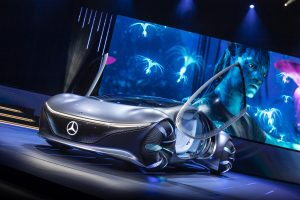 "Consumer Electronics Show (CES) 2020 Keynote: ""Sustainable Modern Luxury – Next Chapter"" Weltpremiere Mercedes-Benz VISION AVTRConsumer Electronics Show (CES) 2020 Keynote: ""Sustainable Modern Luxury – Next Chapter"" World Premiere Merce"