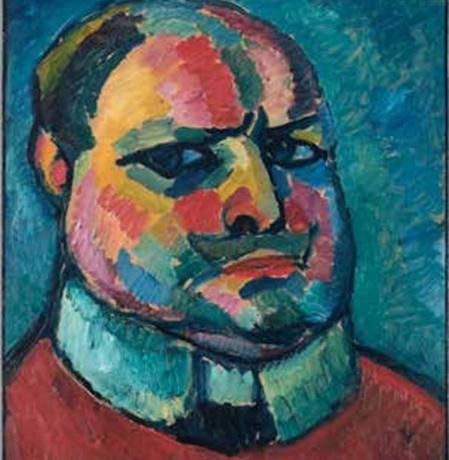 Алексей Явленский, автопортрет, музей Висбадена, 1912г., фото: музей Висбадена ⁄ Бернд Фикерт